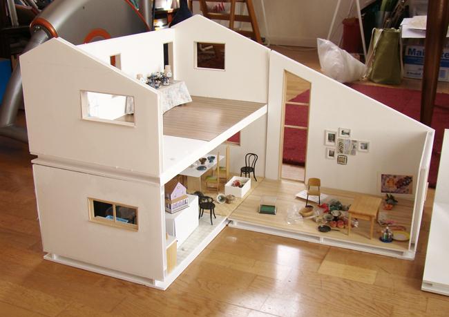 Foam Board Mini Houses : Modular dollhouse overview stephanie kilgast