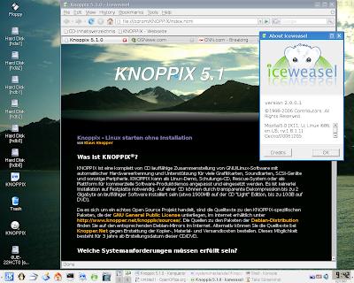knoppix 5.1.1