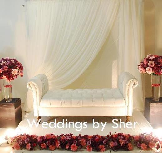 Wedding Nikah Simple Backdrop Decoration Muslim: WEDDINGS BY SHER: Pelamin NIkah