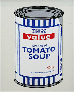 banksy tesco soup can