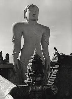 Buddha statue, Mysore, 1929