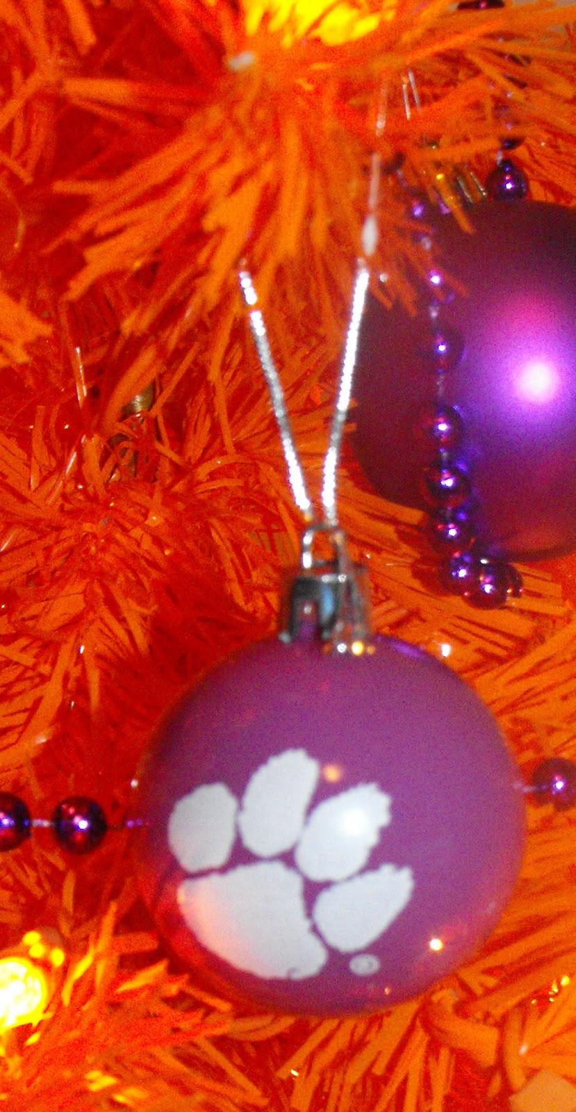 Purple Tiger Stargazer Nail Art Designs By Top Nails: Coley's Corner: Noah's Clemson Tree