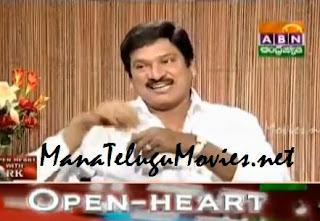 Rajendraprasad in Open Heart with RK