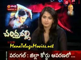 Live Show with Anuska on Nagavalli