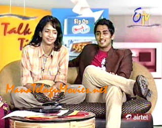 Siddarth and Laxmi Prasanna in Talk Time