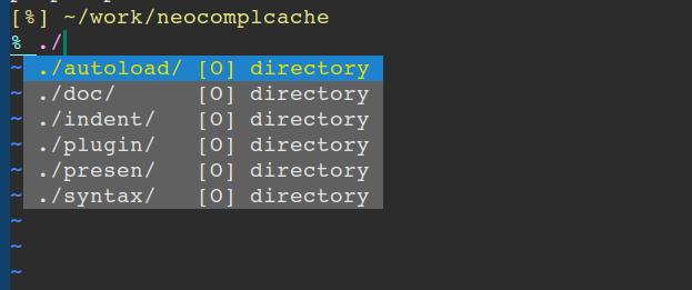 neocomplcache - Ultimate auto completion system for Vim