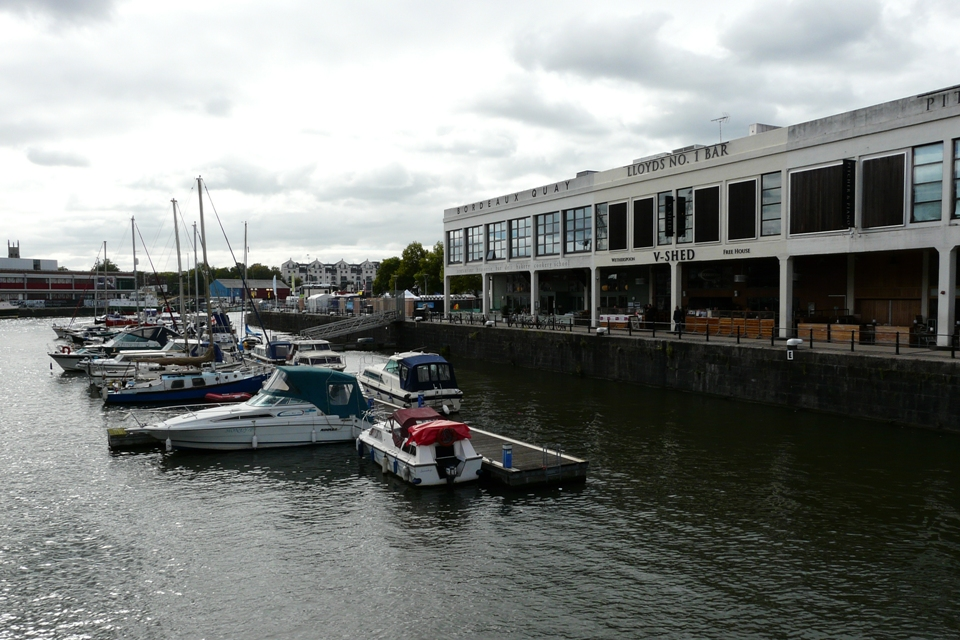 Bristol Bordeaux Quay Good Food Shops
