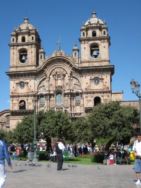 Cusco´s main square