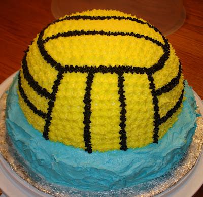 Cake Crazy Water Polo Ball