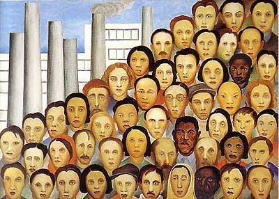 ARTE - Fonte de Conhecimento: Operários - Tarsila do Amaral - 1933