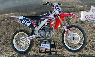2010 Honda CRF250R Motorcross  Specifications Motorcycle