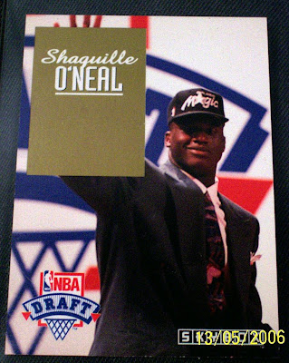 Collectibles 4 U Shaquille Oneal Rookie Card
