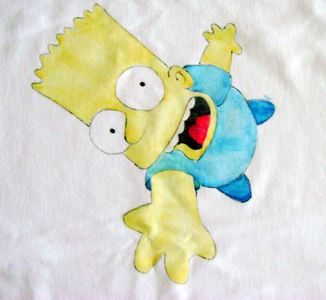 T-shirt Bart Simpson