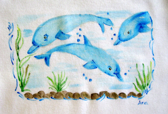 T-shirt Golfinhos