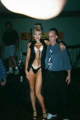 Nude girl with masterbating