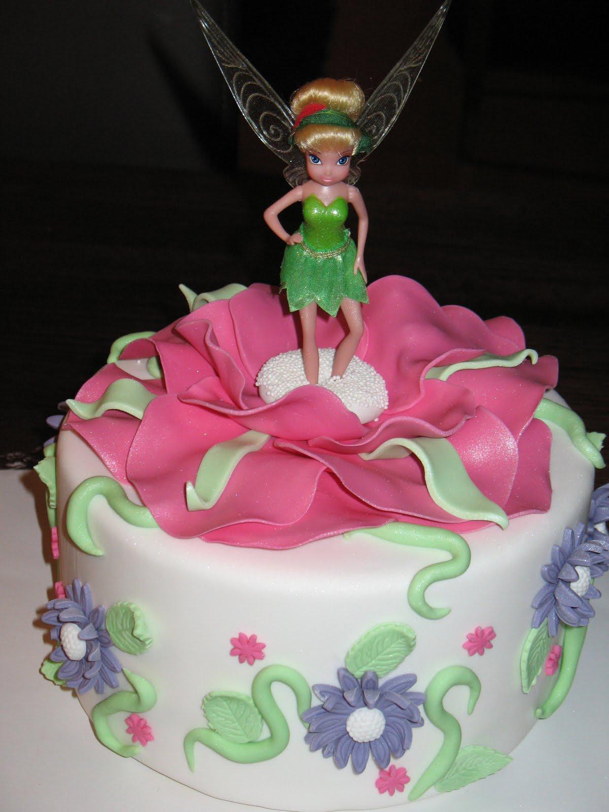 Sandy's Cakes: Tinkerbell Cake