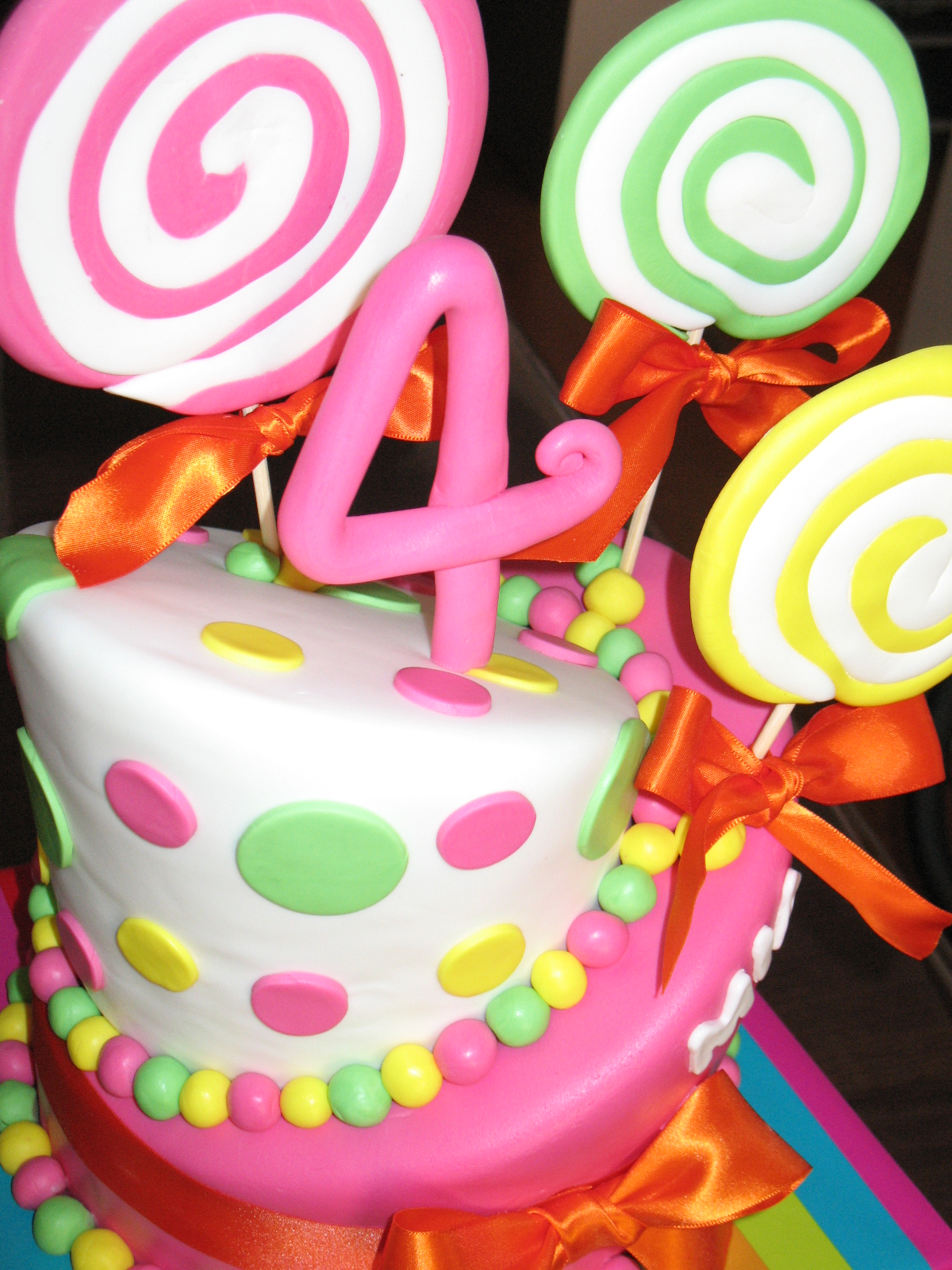 Sandy S Cakes Mia S Lollipop Cake
