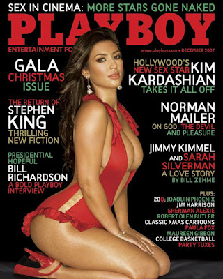 Kim Kardashian in Playboy Dec. 2007
