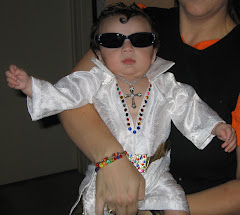 First Halloween as Baby Elvis