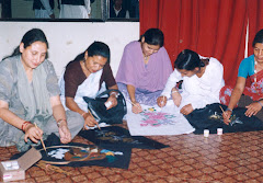 Women Painting training in Future Nepal