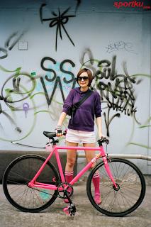 Wee Ellen Sepeda Fixie Yang Lagi Trend
