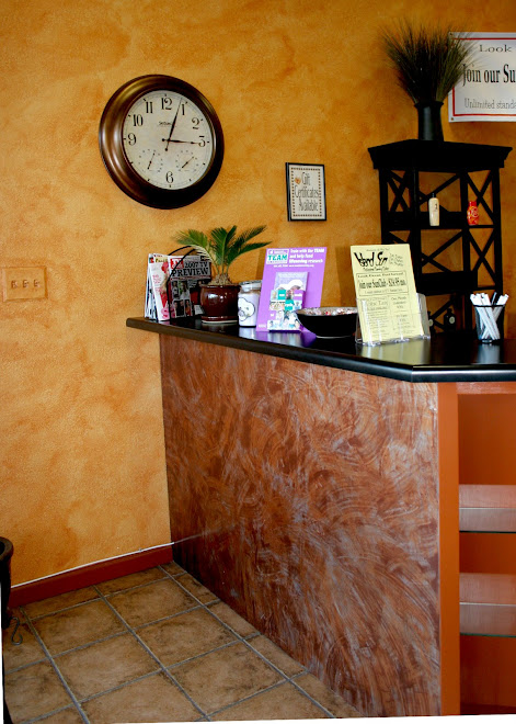 Tanning Salon reception area
