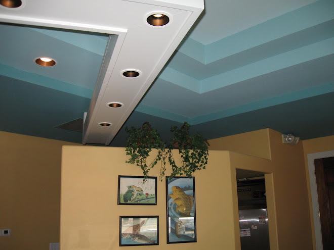 Osake restaurant ceiling detail