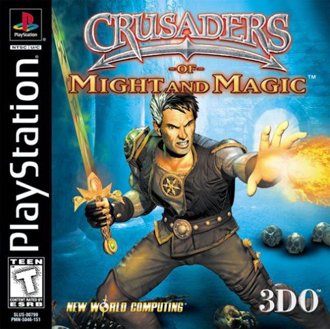 Rom PS1 Crusader of Might and Magic High Compress - Index