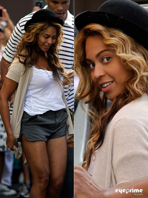 beyonce eyeprime 99 Beyonce & Jay Z leave a Restaurant after Lunch in New York, Sep 11, 2010