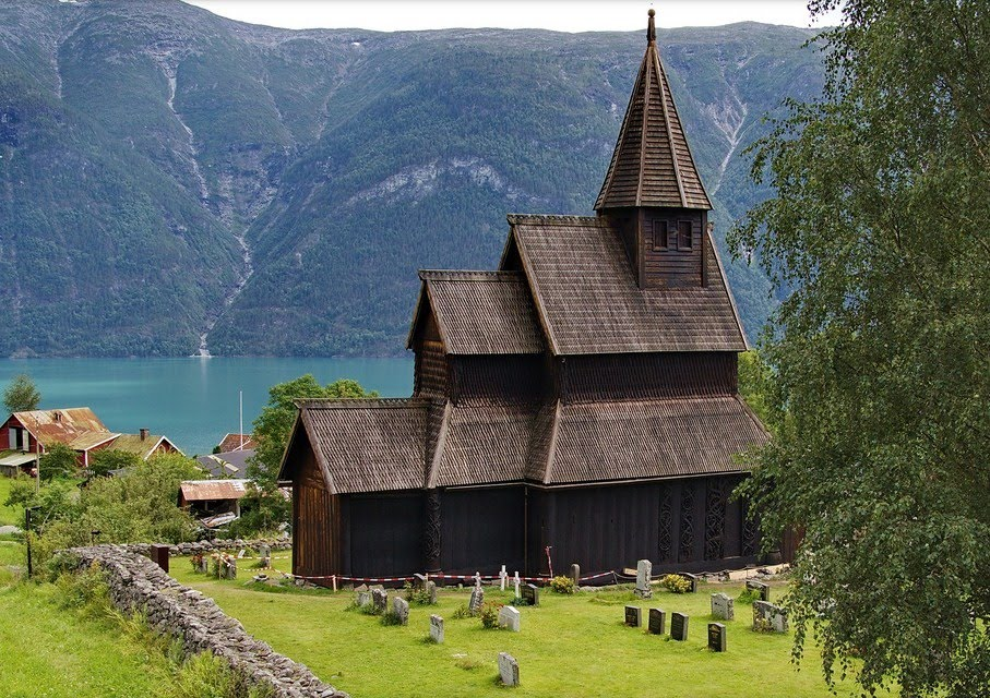Ultima Thule Heddal  a stave church in Norway