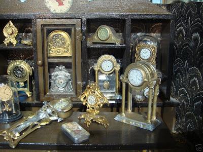 Dollhouse Minis What I Saw On Ebay Antique Clock Shop