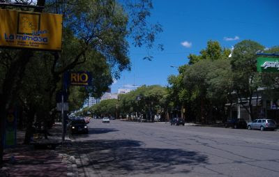 An avenue in San Rafael