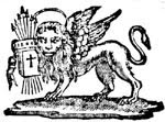 Lion of St Mark : Empire Lion with the 7 Arrows