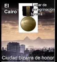 CIUDAD BIZARRA DE HONOR