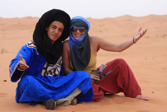 ERG CHEBBI - MARROCOS | Dunas do deserto Sahara em Merzouga