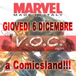 Checchetto, Olivares e Vietti da Comicsland