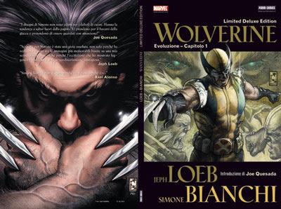 Wolverine Première by Jeph Loeb e Simone Bianchi