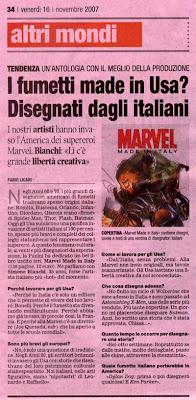 La Gazzetta dello Sport di Venerdi 16 Novembre 2007