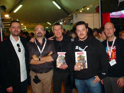 Olivares, Lupoi, Vietti, Checchetto e Brighel a Lucca 2007