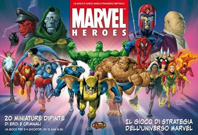 Marvel Heroes, il gioco da tavolo