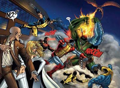World War Hulk: X-Men by Andrea Di Vito