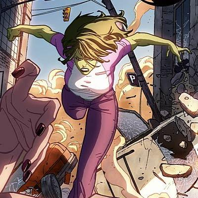She-Hulk by Vincenzo Cucca