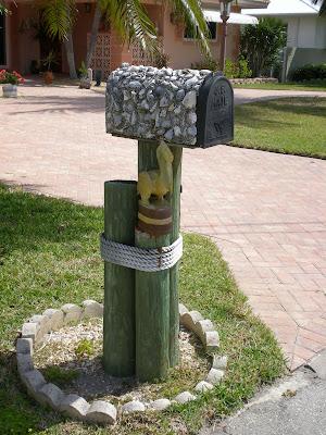 Florida Mailbox Art