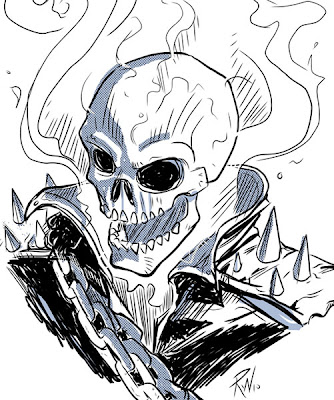 monstersketch: Ghost Rider Sketch