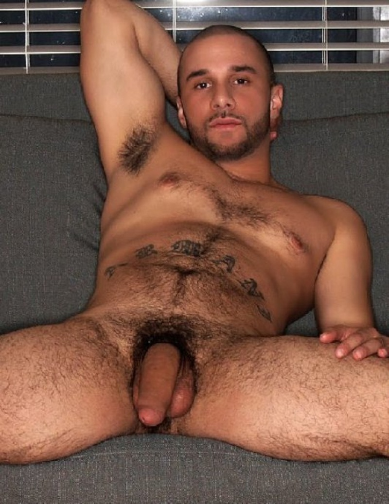 hairy uncut men