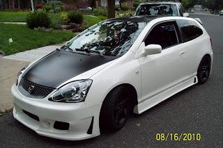 Celebrity Choice Restoration 2002 Honda Civic Si Custom