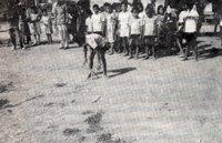 yaitu suatu upacara yang dilakukan oleh  penganut Kaharingan di pedalaman Kalimantan dala Permainan Batewah - Kalimantan Selatan