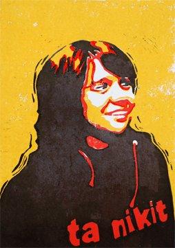 zelfportret (lino)