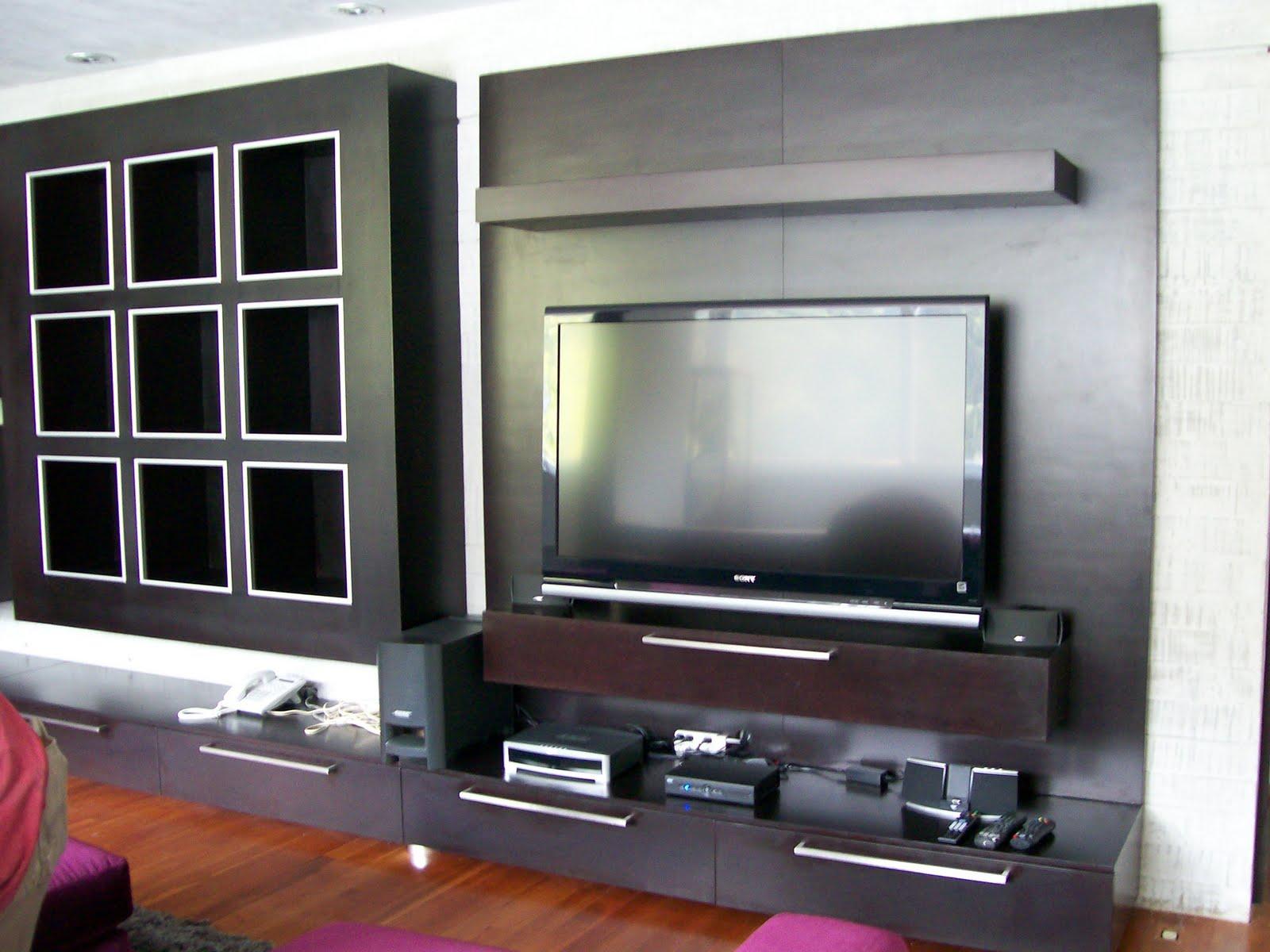 Muebles Para La Tv De Diseno Idea Creativa Della Casa E Dell  # Muebles Sobre Diseo