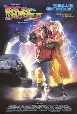 back to the future part two poster storytelling pr blog